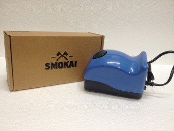 Smokai Luft pumpe - to luft uttak. 5L.